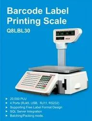 Label Printing Scale With Barcode