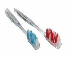 Transparent Hotel Toothbrush