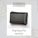 Strap Diary and Pen