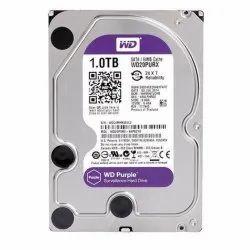 Western Digital HDD WD 1TB Surveillance Hard Disk Drive, For CCTV Camera,Computer