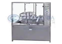 Air Jet Cleaning Machine With Inverting System