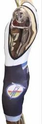 Subllimation Lycra Bib Short With 4 D Coolmax Pad