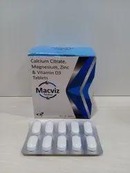 Calcium Carbonate And Vit. D3 Tablets