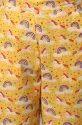 Janasya Women's Yellow Cotton Night Suit Set(NW033)