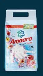 Jasmine Blue Amaaro Detergent Powder, For Laundry