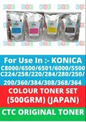 CTC TONER FOR KONICA C224 C258 COLOR TONER POWDER