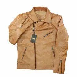 Sleeveless Casual Wear Men Fashion Leather Jackets, Size: m/l/xl