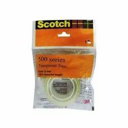 3M Scotch Transparent Tape, 1 inch, Core - 18mm