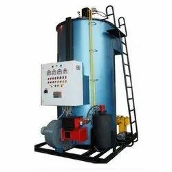 Wood & Coal Fired 500 kg/hr Steam Boiler