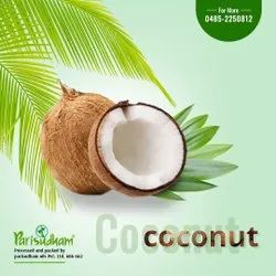 A Grade Solid Parisudham Husked / Non Husked Coconut, Packaging Size: 20 Kg, Coconut Size: Large