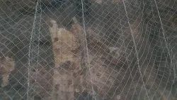 Galvanized Woven Rock Fall Netting, For Highway