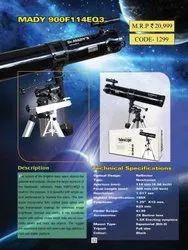 Dr. Mady 900F 114EQ Reflector Telescope