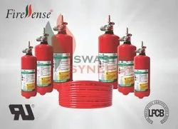 Pneumatic Mild Steel Firessense Direct Low Pressure System LPCB Approved, For Electrical Panel