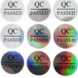 QC Round Sticker