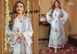 Cotton Lawn Pakistani Suits