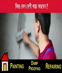 Internal Wall Dampness Waterproofing Service