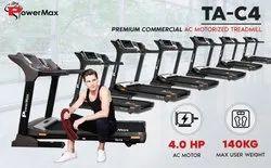 TA-C4 Premium Commercial AC Motorized Treadmill
