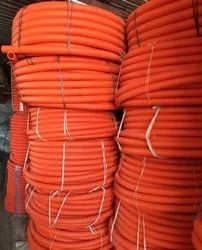 Orange Double Walled Corrugated Pipes