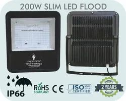 120 Degree Aluminium Die Casting 200W Led Slim Flood Light, Model Name/Number: LT-200WFL-SLIM