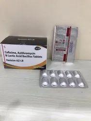 Cefixime And Azithromycin Lactic Acid