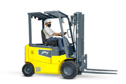 Godrej 1.5 to 3.0 Tonne UNO 4 Wheel Electric Forklift