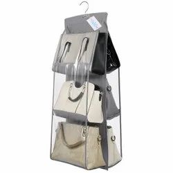 Handbags Black OxbOw 6 Pocket Hanging Handbag Purse Organizer, 230, Size: 90*35*35 cm