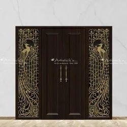 Decorative Door Grill Design