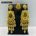 Senegal Earring Jewelry Set African Set Gold Plated
