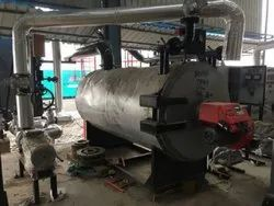 Oil & Gas Fired 1500 MCAL/HR Hot Water Generator