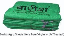 Barish Agricultural Green Shade Net Pure Virgin+ UV Protcted