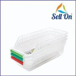 Transparent Fridge Storage Basket