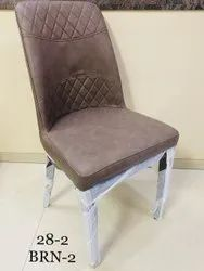 Wood Brown Dining Chair, For Hotel, Set Size: Set of 4