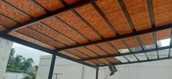 Clay Tile Roofing Shed