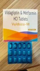 Vildagliptin & Metformin HCI Tablets
