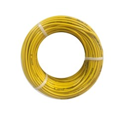 Yellow PVC Anchor Housing Wire