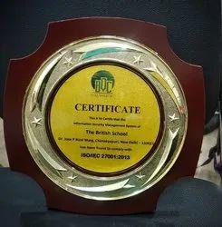 Wooden MDF trophy