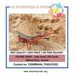 Filling Sand