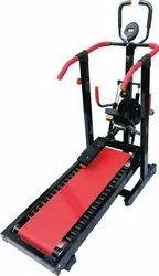 Multi Function Manual Treadmill