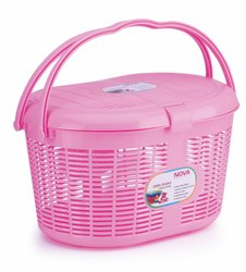 Oval Plastic Cycle Basket