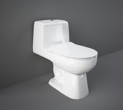 Open Front Alpine White Rak One Piece Water Closet, For Bathroom Fitting