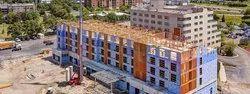 Concrete Prefab Commercial Building Construction Service, in Pan India