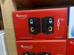 Black Quantum Usb Speaker