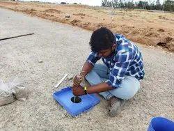 Soil/Sand Offline Sand Replacement Method Testing Service