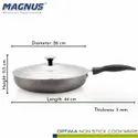 Magnus Optima Non-Stick Aluminium Fry Pan,(260 mm) Bakelite Handle, Hammertone Finish