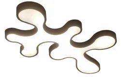 Holma Craft Iron Fluid Shape LED Light, For Decoration, 42