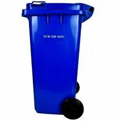 Bio Medical Waste Bin 120 Litre Wheeled