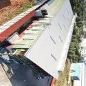 60 Feet MS Prefab Commercial Pre Engineered Building Structure