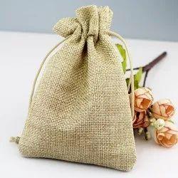 Plain Jute Potli Bags