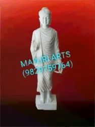 Marble Lord Buddha Standing Statue
