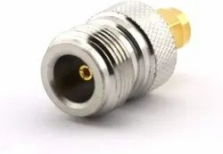 RF Coaxial Adapter N Female to SMA Male Connector